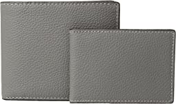 3-in-1 Wallet in Pebbled Leather Box Set