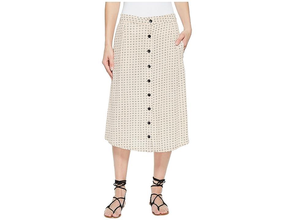 Volcom Get To Steppin Skirt (Mushroom) Women