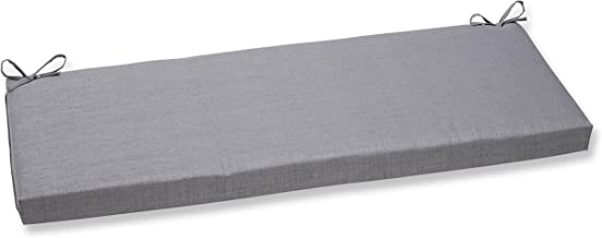 Pillow Perfect Bench Cushion, Rave Graphite