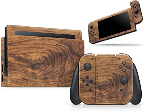 Design Skinz Raw Wood Planks V11 - Skin Decal Protective Scratch-Resistant Removable Vinyl Wrap Kit Compatible with T...