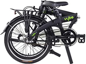 "Dahon VYBE I3 Folding Bike, Lightweight Aluminium Frame 3-Speed Shimano Gears 20"" Foldable Bicycle for Adults"