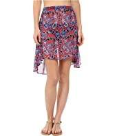 MICHAEL Michael Kors - Angelina Convertible High Low Skirt Cover-Up