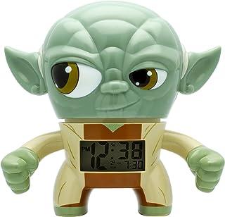 BulbBotz Despertador con luz Infantil con figurita de Yoda