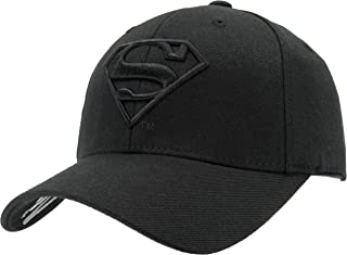 Best black superman fitted hat Reviews
