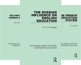 Routledge Library Editions: Comparative Education (20 Book Series)