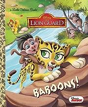 baboons. (شبابي مطبوع عليه: تي شيرتات The Lion من Disney Guard كتاب) (ذهبي)