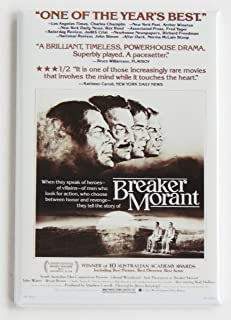Breaker Morant Movie Poster Fridge Magnet (2 x 3 inches)