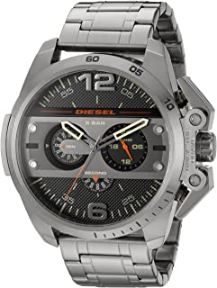 Diesel Ironside for Men - Analog Stainless Steel Band Watch - DZ4363