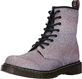 1460 Glitter Youth Delaney Boot (Big Kid)