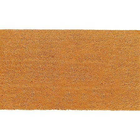 Theodore Magnus Natural Coir Doormat with Non-Slip Backing - 17 x 30 - Outdoor / Indoor - Natural - COIR-1730-15-Natural