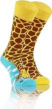 Sesto Senso Kleurrijke Hoge Sokken Grappige Katoen Dames Heren 1 Paar Funny Socks