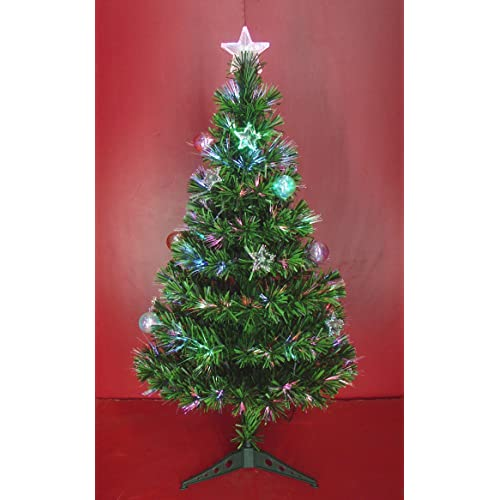 b05bcada8d96 Inside Out Toys Indoor LED Multicolour Fibre Optic Xmas Christmas Tree  Green or White Various