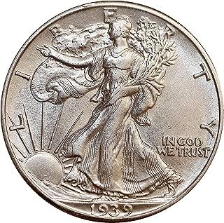 1939 P Walking Liberty Half Dollar - Choice BU/MS/UNC