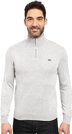 Classic 1/4 Zip Jersey Sweater