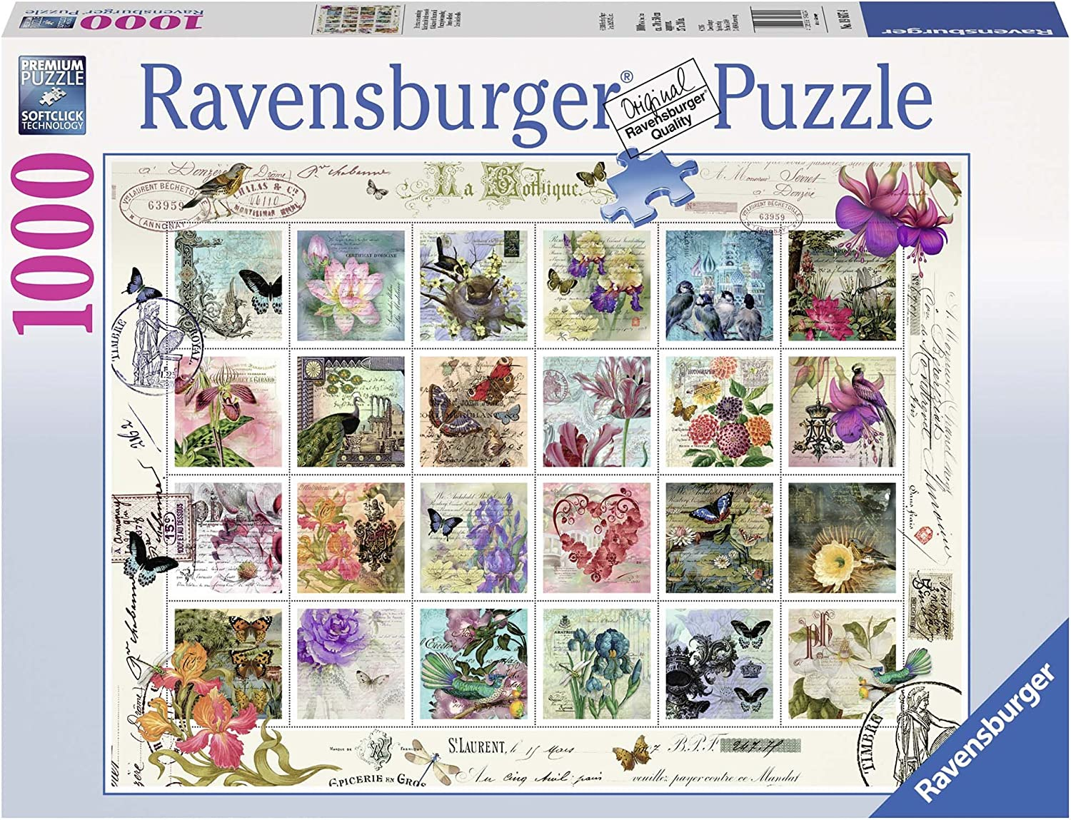 Ravensburger Stamp Collection Jigsaw Puzzle (1000 Piece)