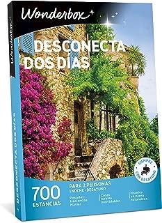 WONDERBOX Caja DESCONECTA Dos DÍAS- 700 estancias Rurales para Dos Personas en haciendas, masías, Casas Rurales inolvidables, hoteles en Plena Naturaleza
