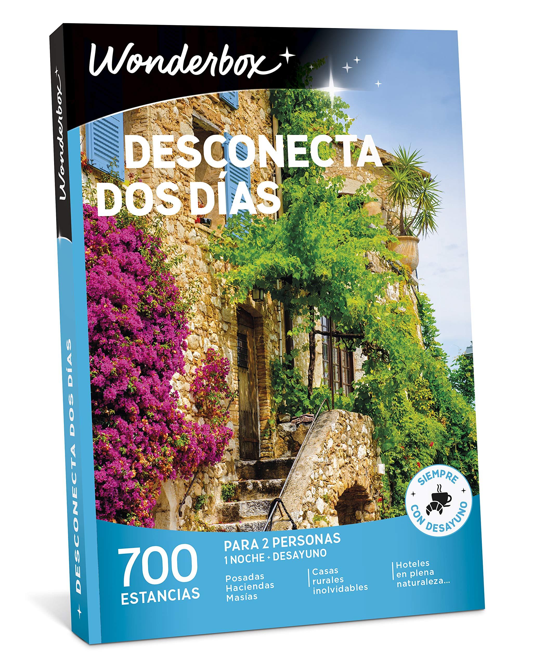 WONDERBOX Caja Regalo -DESCONECTA Dos DÍAS- 700 estancias Rurales ...