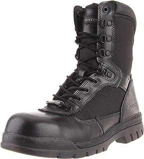 Bates Men's Safety Enforcer 8 Inch L N Steel Toe Uniform Work Oxford