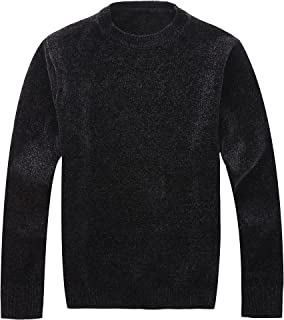 d5d23caa1d2 Vcansion Men s Classic Long Sleeve Full Zip up Fleece Knitted Cardigan  Sweaters