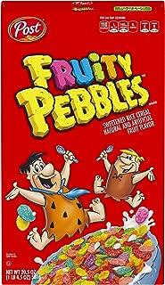 Post Fruity Pebbles Gluten Free Breakfast Cereal, 20.5 Ounce