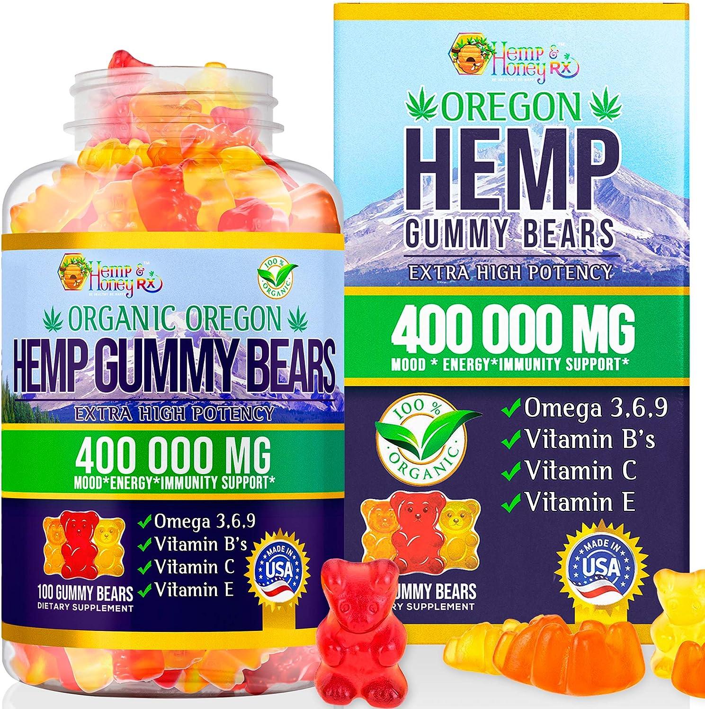 HEMP HONEY RX-Organic Special Campaign Oregon Hemp Wholesale Gummies MG 100 Gu 400 000