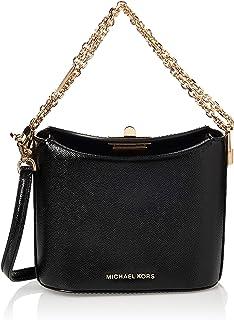 MICHAEL KORS Womens Small Trunk Xbody Bag, Black - 32H9GGHC5A