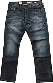Jeans Homme G star Raw 3301 Straight Vintage Aged (fall
