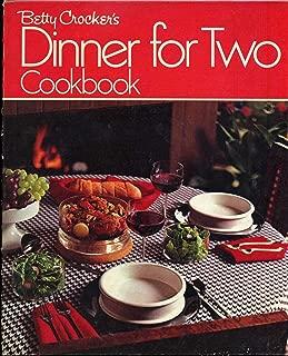 Betty Crocker's Dinner For Two Cookbook