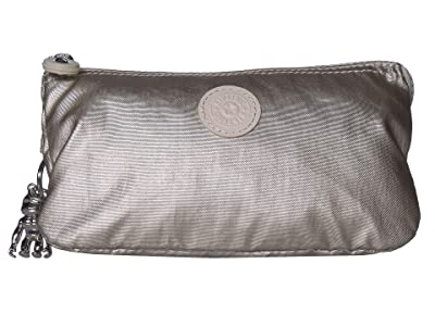 Kipling Creativity Large Pouch (Cloud Metal) Clutch Handbags