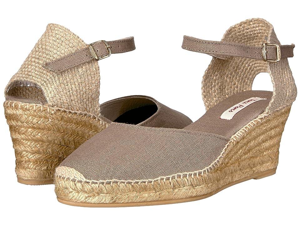 18f10b49fce6 Toni Pons Caldes (Taupe Linen) Women s Shoes