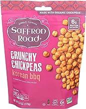 product image for Saffron Road Organic Crunchy Chickpeas, Non-GMO, Gluten-Free, Halal, Korean BBQ, 6 Ounce