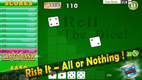 『Farkle Blitz Pro HD – 10000 Dice Addict with Friends Buddies App』の5枚目の画像