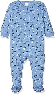 Schiesser Baby-Jungen Polizei Anzug mit Fuã Zweiteiliger Schlafanzug