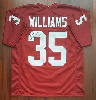 Aeneas Williams Autographed Signed Jersey Arizona Cardinals JSA