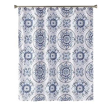 SKL Home by Saturday Knight Ltd.  Kali Shower Curtain, Blue