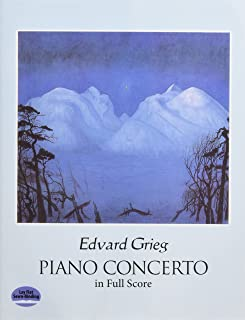 Piano Concerto in Full Score (Dover Music Scores)