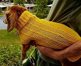 dachshund jumper knitting pattern