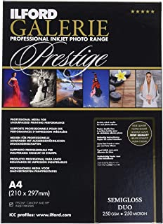 Ilford Galerie Prestige Semigloss Duo–Photo Paper Double Sided, 250g A4
