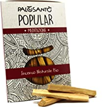Incienso Natural Palo Santo - Madera Sagrada - Palitos Variedad Popular Suyo - 9 Palitos - para recuperar energía, purific...