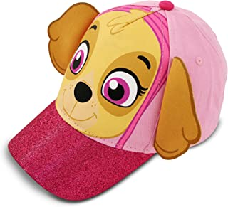 07ae4936176 Nickelodeon Toddler Girls Paw Patrol Skye Character Cotton Baseball Cap