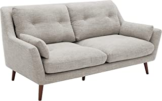 Rivet Brooker Down-Filled Mid-Century Sofa, 76