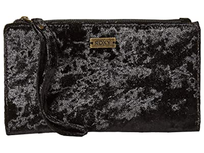 Roxy Find Joy Wallet (True Black) Wallet Handbags