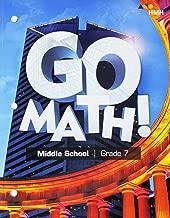 Go Math! StA: Student Interactive Worktext Grade 7 2018