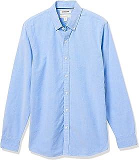 Amazon Brand - Goodthreads Men's Slim-Fit Long-Sleeve Solid Oxford Shirt