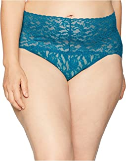 Plus Size Signature Lace Retro V-Kini