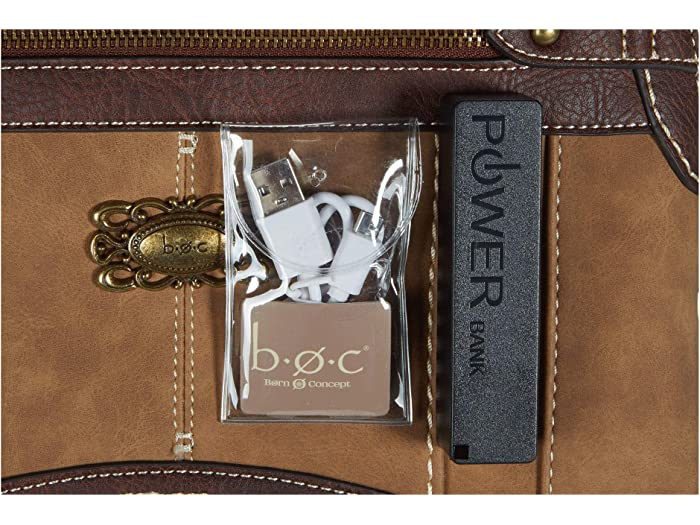 B.o.c. Gorham Power Bank Dome Satchel | Bag Brand Discount