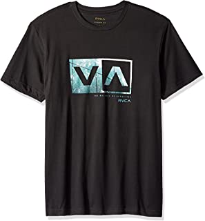 RVCA Men's Reflection Box Short Sleeve Logo T-Shirt