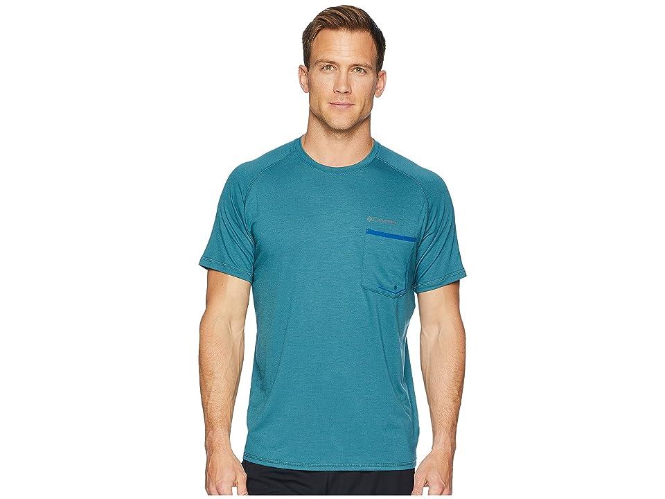 Columbia Sol Resist Short Sleeve Shirt (Poseidon) Men