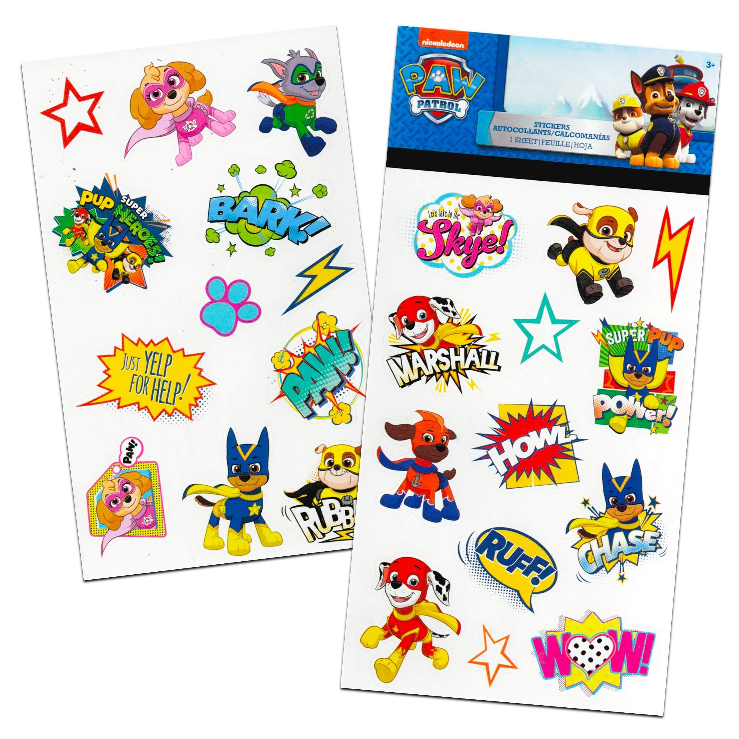 Granshop PAW Patrol Tattoos and Stickers Set