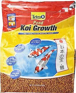 TetraPond High Protein Koi Growth Sticks Food Soft Sticks, 4.85-Pound